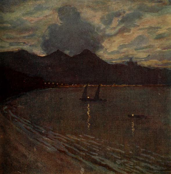 South America, Painted and Described - Rio Harbour - Evening (1912)