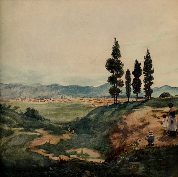 South America, Painted and Described - São Paulo from Ypiranga (1912)