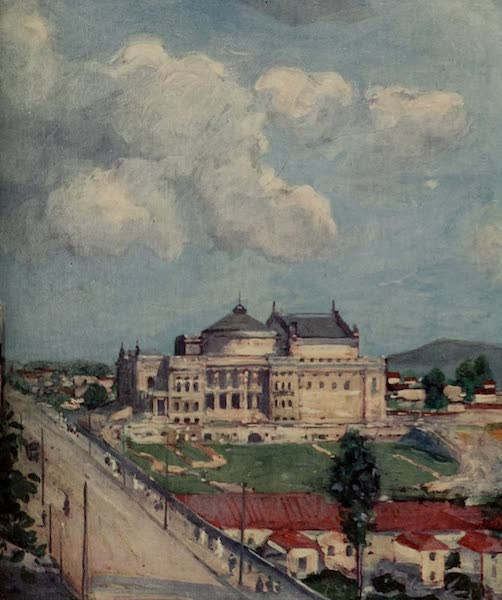South America, Painted and Described - The Municipal Theatre, São Paulo (1912)