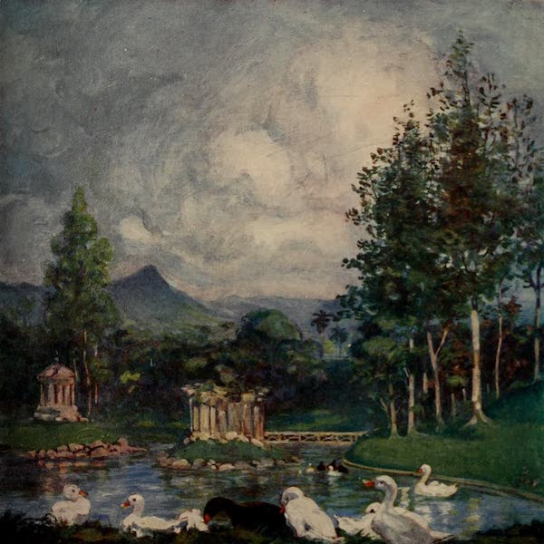 South America, Painted and Described - The Gardens of the Palace of Dom Pedro II. at Rio (1912)