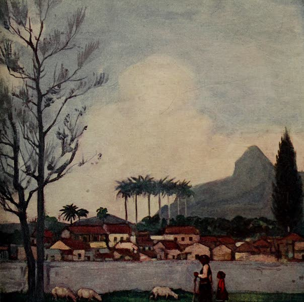 South America, Painted and Described - A Little Bit of Old Rio (1912)