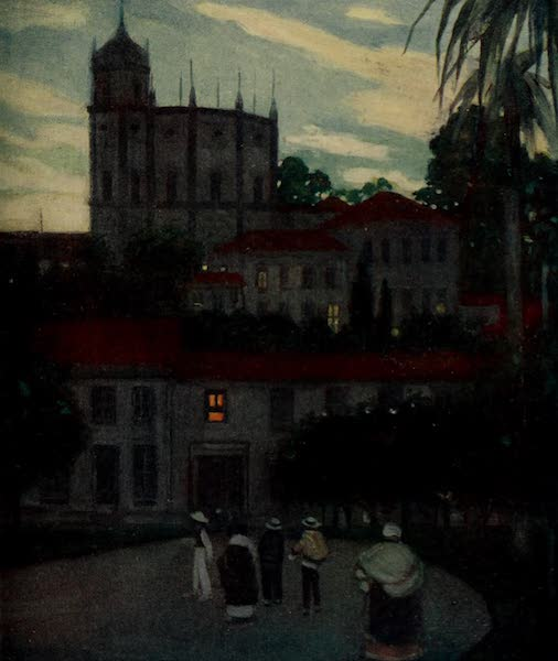 South America, Painted and Described - An Old Church, Rio (1912)