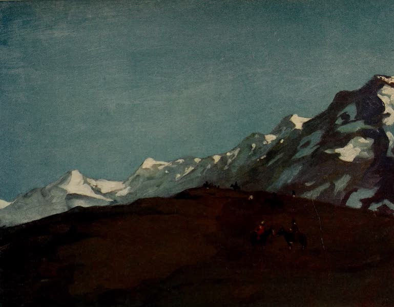 South America, Painted and Described - The Snow-Clad Andes (1912)
