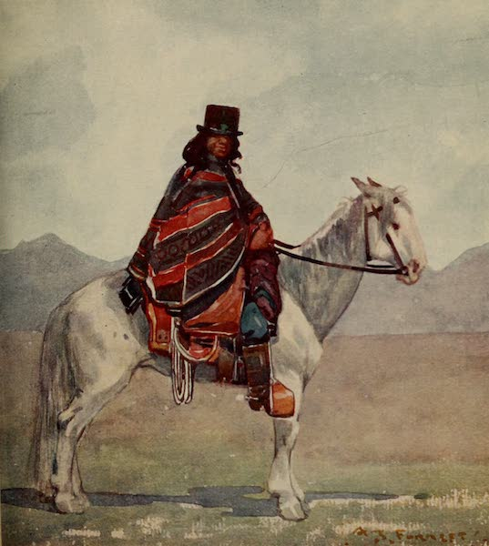 South America, Painted and Described - An Araucanian Indian (1912)