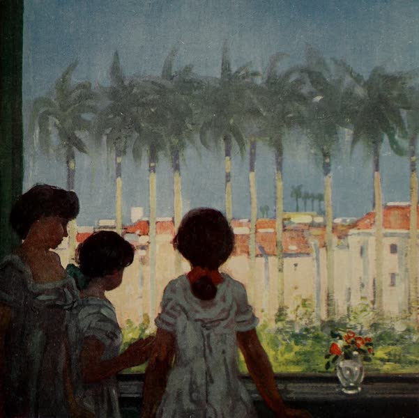 South America, Painted and Described - A Window in Rio (1912)