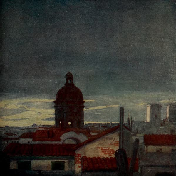 South America, Painted and Described - The Roofs of Asuncion, with the Dome of the Un-Finished Cathedral (1912)