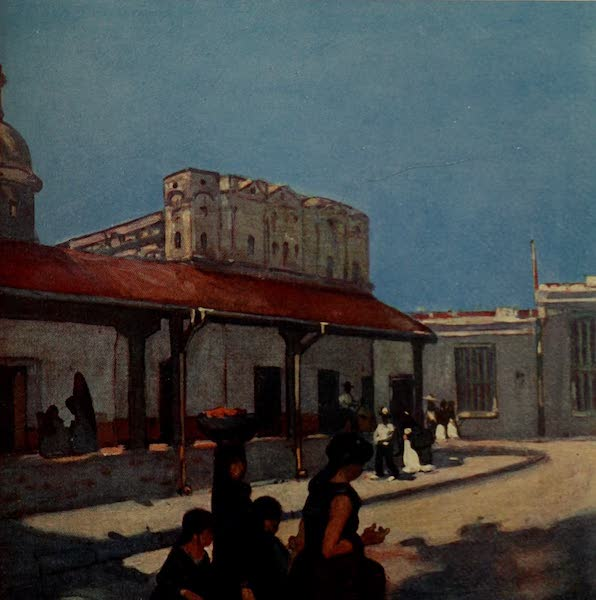 South America, Painted and Described - A Typical Street in Asuncion (1912)