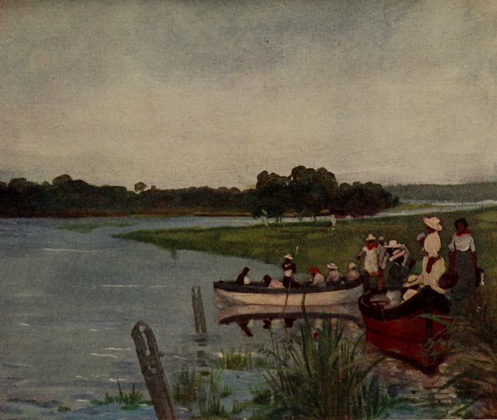 South America, Painted and Described - On the Banks of the Parana River (1912)