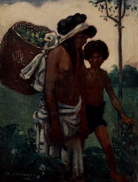 South America, Painted and Described - Guarani Indians, Northern Paraguay (1912)