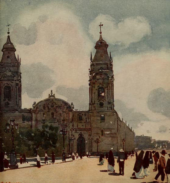 South America, Painted and Described - The Cathedral, Lima (1912)