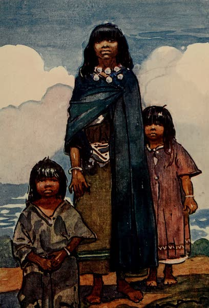 South America, Painted and Described - Peruvian Indians (1912)