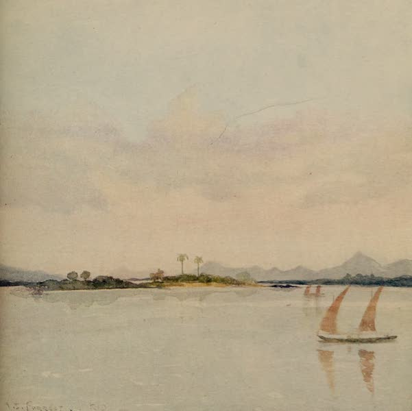 South America, Painted and Described - Islands in the Rio Harbour (1912)