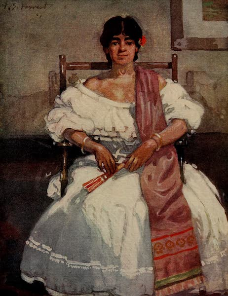 South America, Painted and Described - A Colombian Señorita (1912)