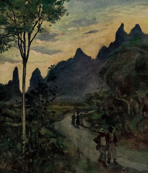 South America, Painted and Described - At the Back of the Organ Mountains on the Way to Novo Friburgo (1912)