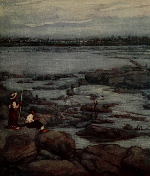 South America, Painted and Described - The River San Francisco at Pirapora (1912)