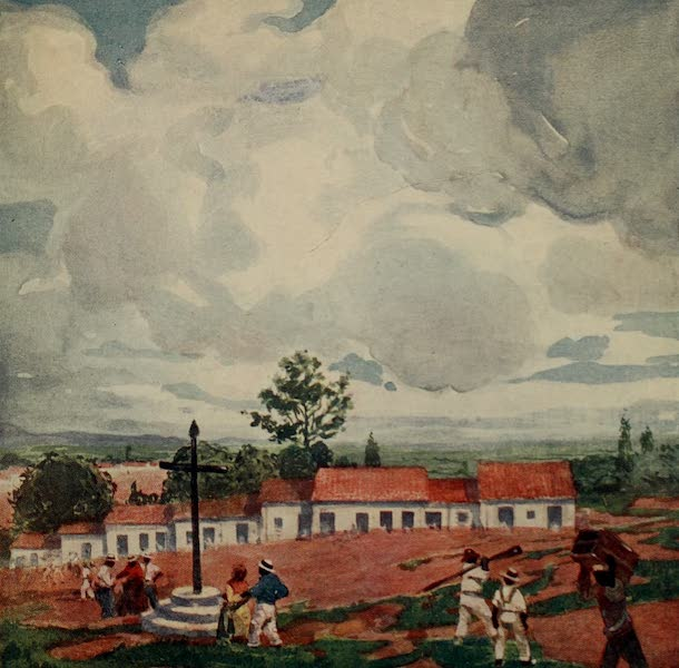 South America, Painted and Described - Colonists, São Paulo (1912)