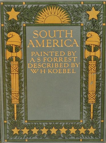 Chromolithography - South America, Painted and Described
