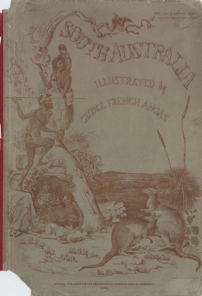 South Australia Illustrated - Illustrated Wrapper (1847)
