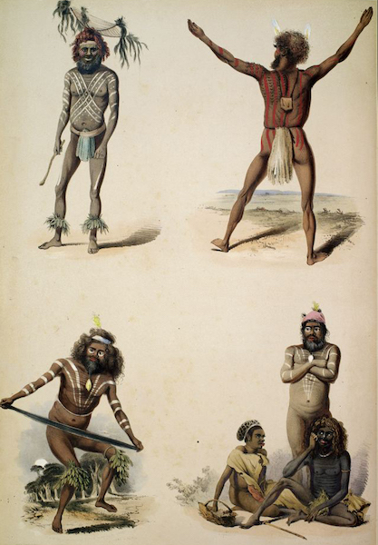 South Australia Illustrated - Portraits of the Aboriginal Inhabitants (1847)