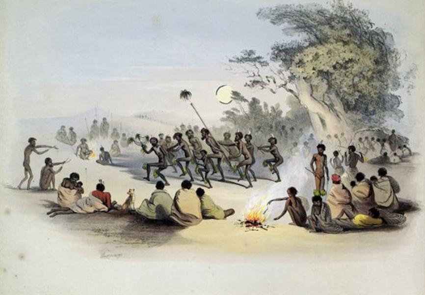South Australia Illustrated - The Kuri Dance (1847)