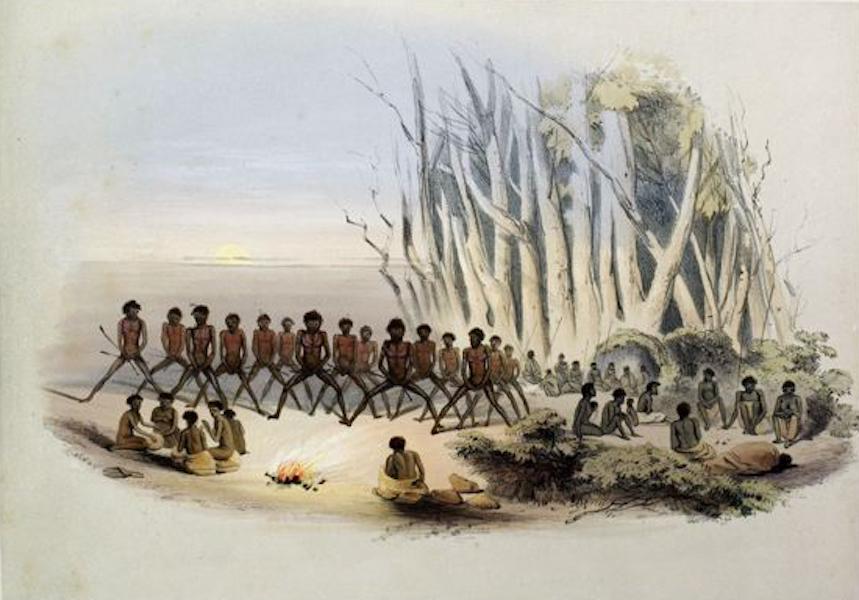 South Australia Illustrated - The Palti Dance (1847)
