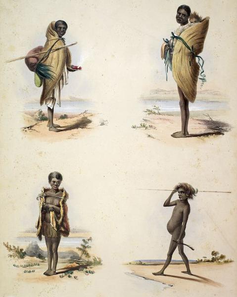 South Australia Illustrated - The Aboriginal Inhabitants (1847)