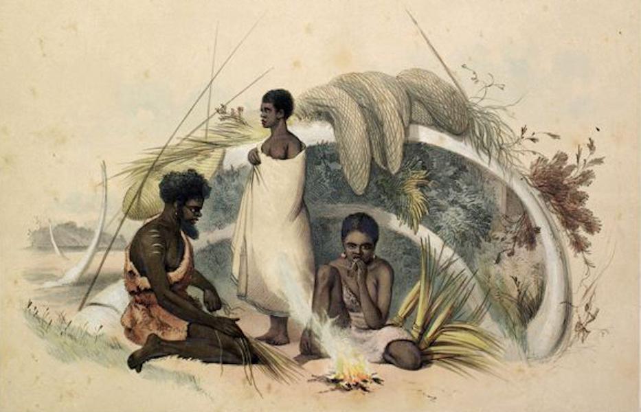 South Australia Illustrated - Natives of Encounter Bay (1847)