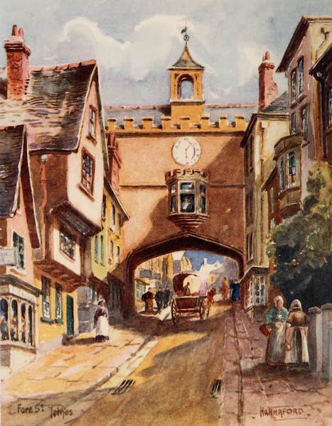 South Devon Painted and Described - Fore Street, Totnes (1907)