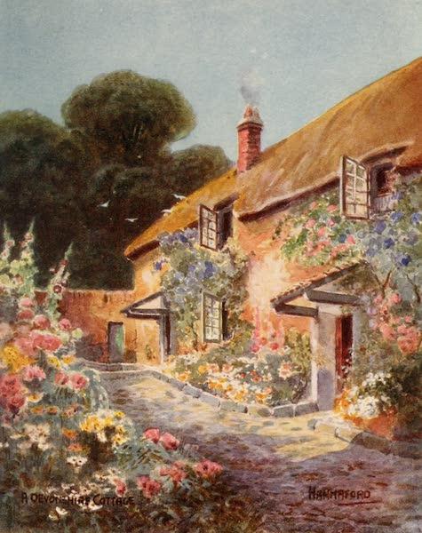 South Devon Painted and Described - A Devonshire Cottage (1907)