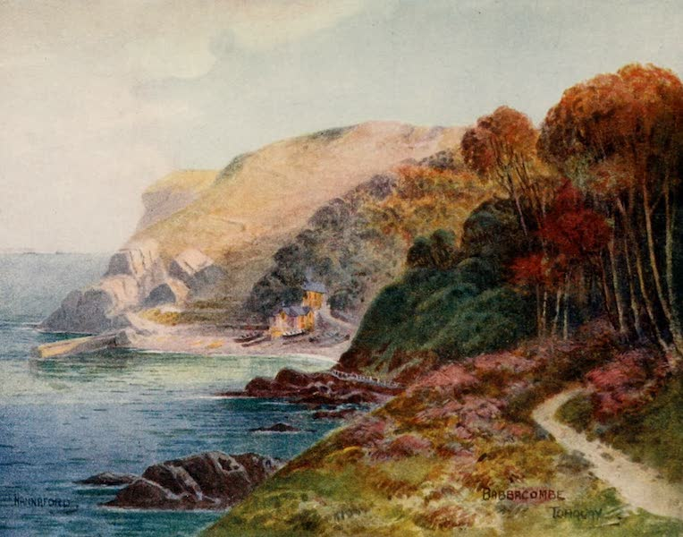 South Devon Painted and Described - Babbacombe, Torquay (1907)