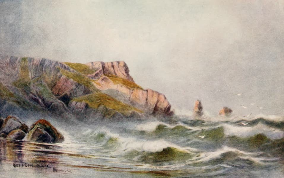 South Devon Painted and Described - Anstis Cove Torquay (1907)