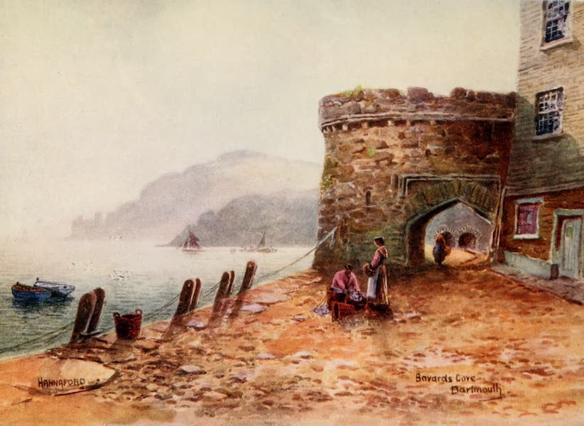 South Devon Painted and Described - Bayards Cove, Dartmouth (1907)
