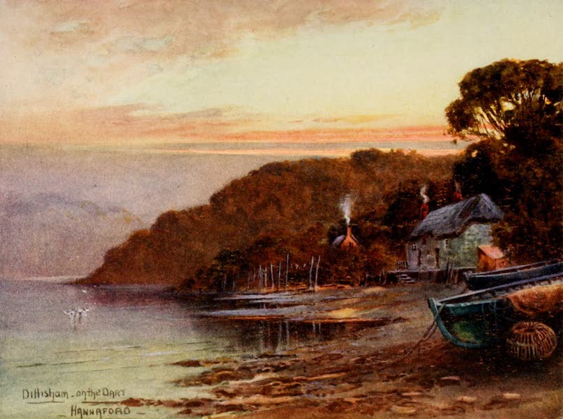 South Devon Painted and Described - Dittisham on the Dart (1907)