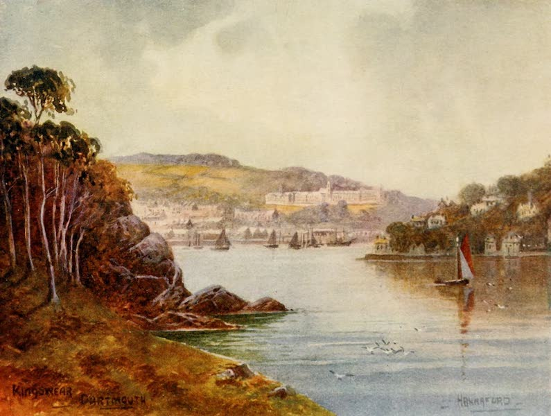 South Devon Painted and Described - Kingswear, Dartmouth (1907)