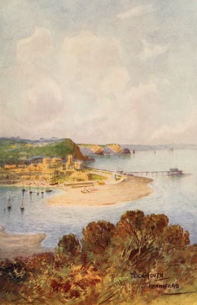 South Devon Painted and Described - Teignmouth from Shaldon (1907)