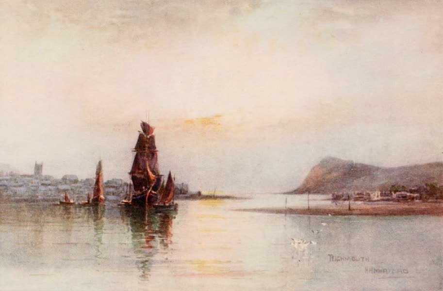 South Devon Painted and Described - Teignmouth from the Ness (1907)