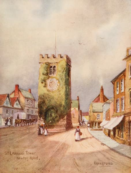 South Devon Painted and Described - St. Leonards Tower, Newton Abbot (1907)