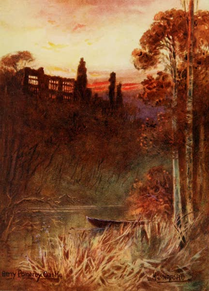 South Devon Painted and Described - Berry Pomeroy Castle (1907)