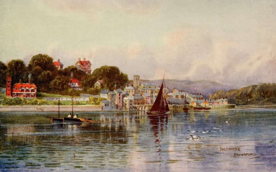 South Devon Painted and Described - Salcombe (1907)