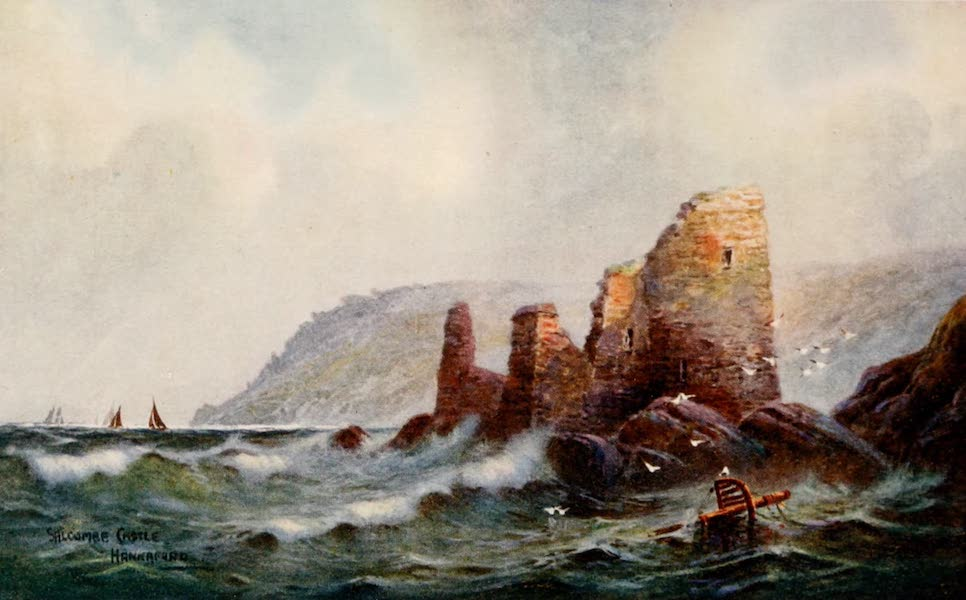 South Devon Painted and Described - Salcombe Castle (1907)