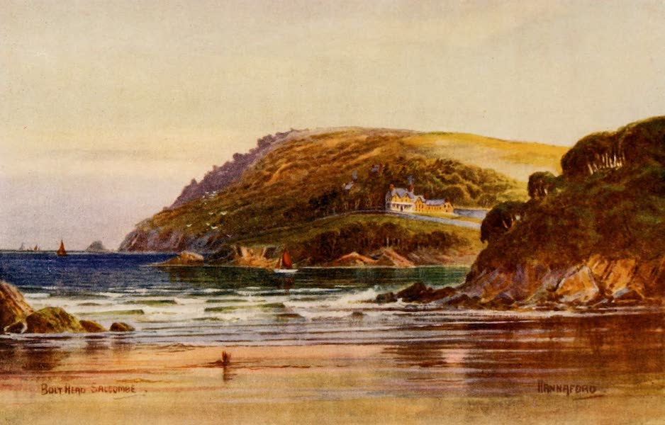 South Devon Painted and Described - Bolt Head, Salcombe (1907)