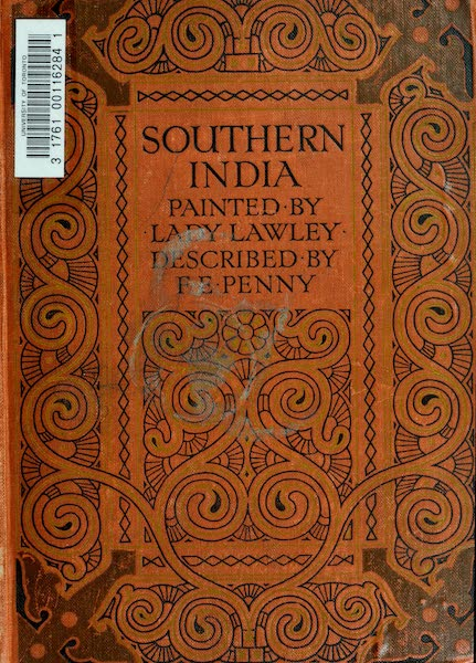 Southern India, Painted and Described - Front Cover (1914)