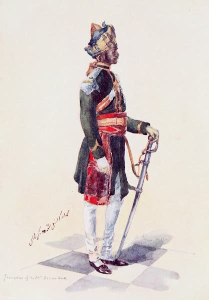 Southern India, Painted and Described - A Jemadar of the 20th Deccan Horse (1914)