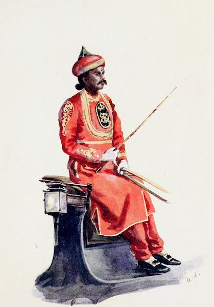 Southern India, Painted and Described - Adam, the Head Coachman at Government House, Madras (1914)