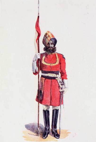 Southern India, Painted and Described - A Trooper of the Governor's Bodyguard (1914)