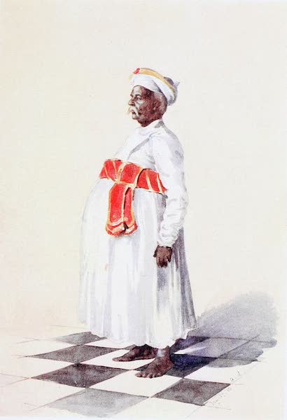 Southern India, Painted and Described - Muniswami, the Government House Head Butler (1914)