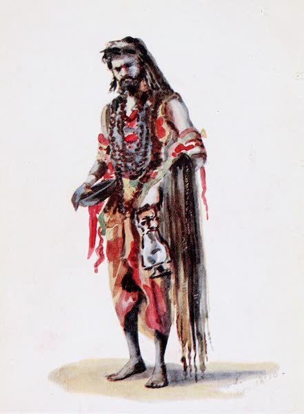 Southern India, Painted and Described - A Saddhu (1914)