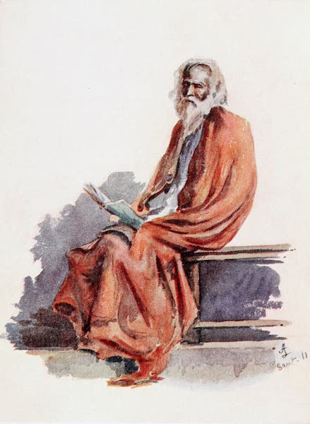 Southern India, Painted and Described - A Learned Ascetic (1914)