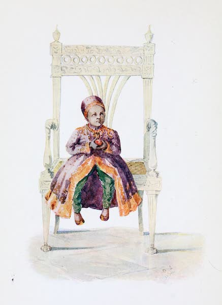 Southern India, Painted and Described - A Muhammadan Child of Noble Birth (1914)