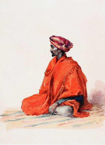 Southern India, Painted and Described - A Dhurzi or Tailor : a Muhammadan (1914)